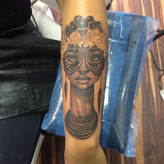 African Tribal Art Tattoos