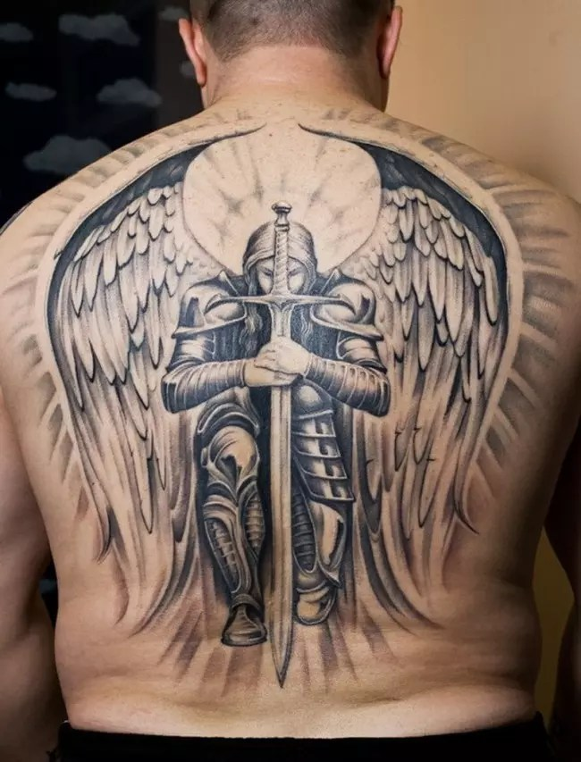 Lucifer Angel Tattoos