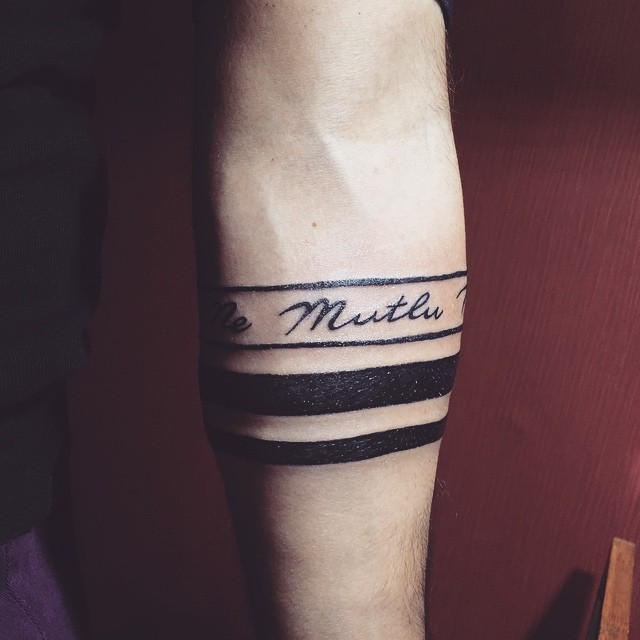 Best Tattoos For Men On Hand Band