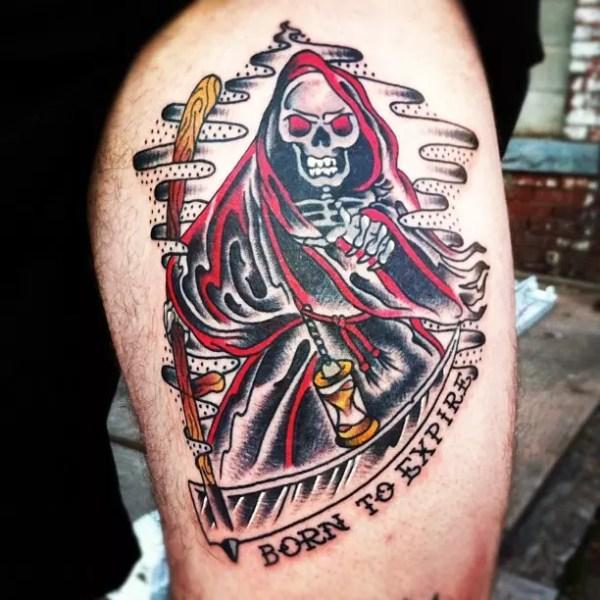 biker tattoo design