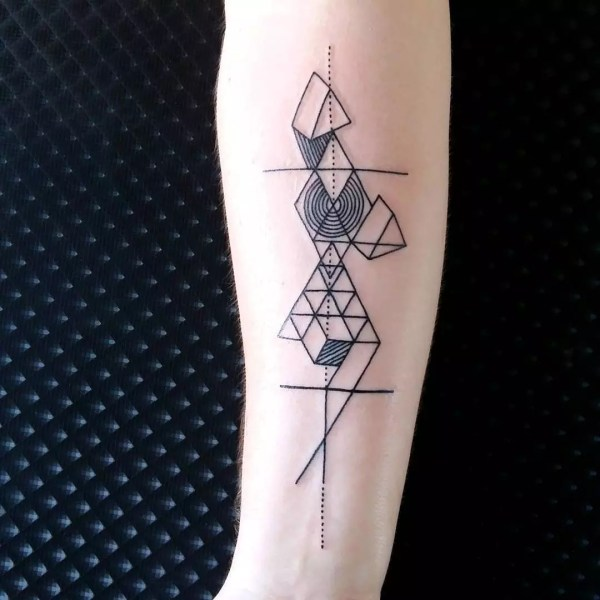 Geometric Tattoo Design & Meanings - Shapes
