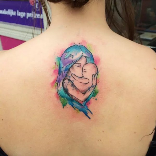sweet mother daughter tattoos