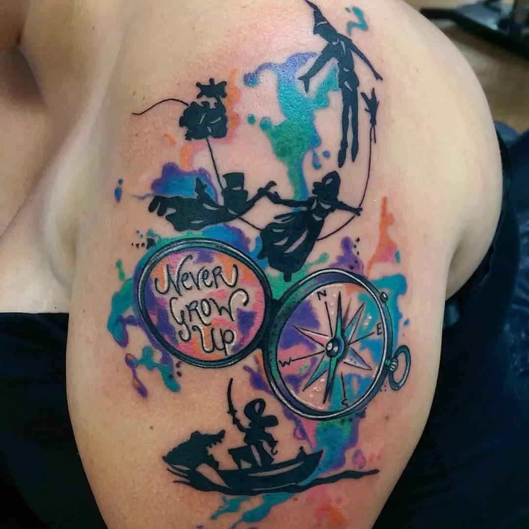 50 Fairy Peter Pan Tattoos