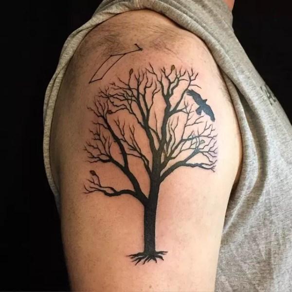 tree tattoo design &