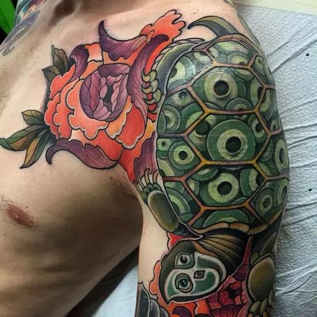 85+ Best Sea Turtle Tattoo Designs & Meanings - (2019)