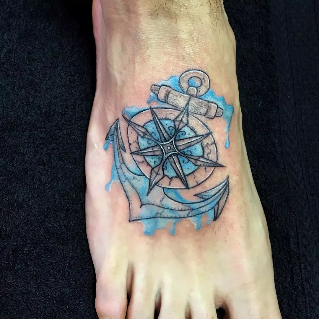 95+ Best Anchor Tattoo Designs & Meanings - Love of The Sea (2019)