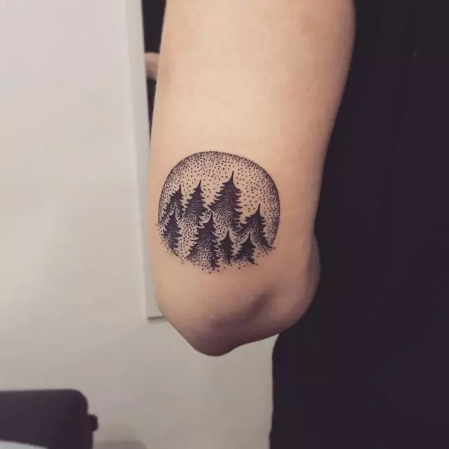 Simple Tree Tattoo Designs