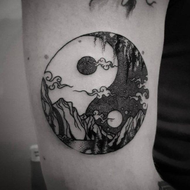 Yin Yang Koi Tattoo Meaning
