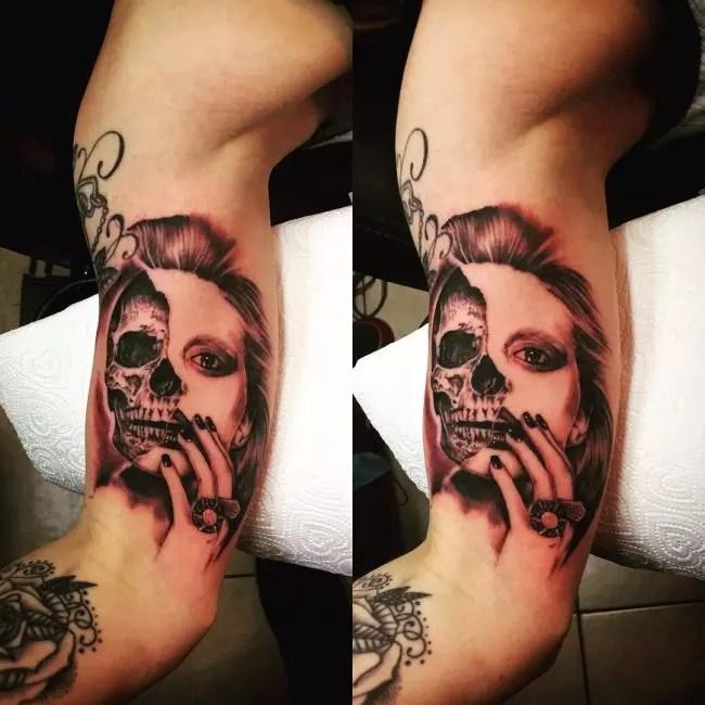 Wrap Around Forearm Tattoos For Girls