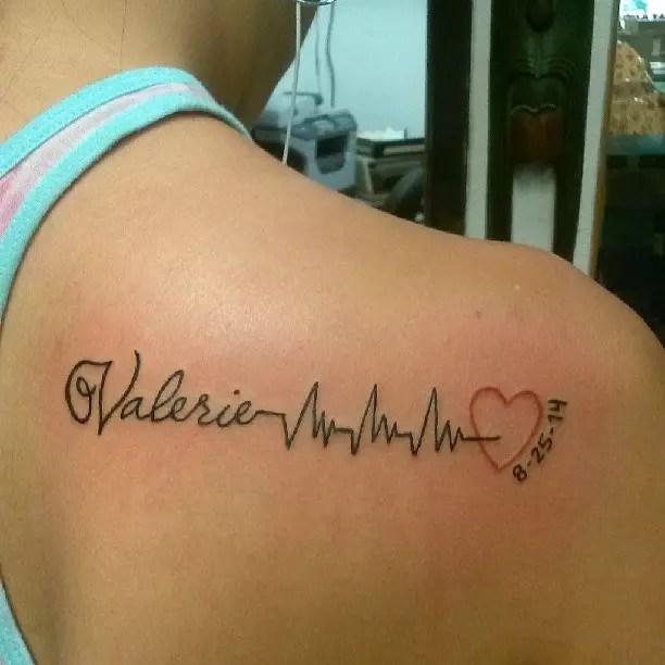 30 Conceptions Et Significations De Tatouage De Battement De Coeur