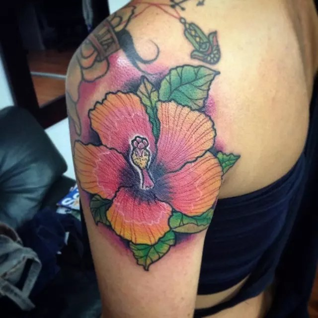 75+ Best Hibiscus Flower Tattoo Meaning & Designs - Art of ...