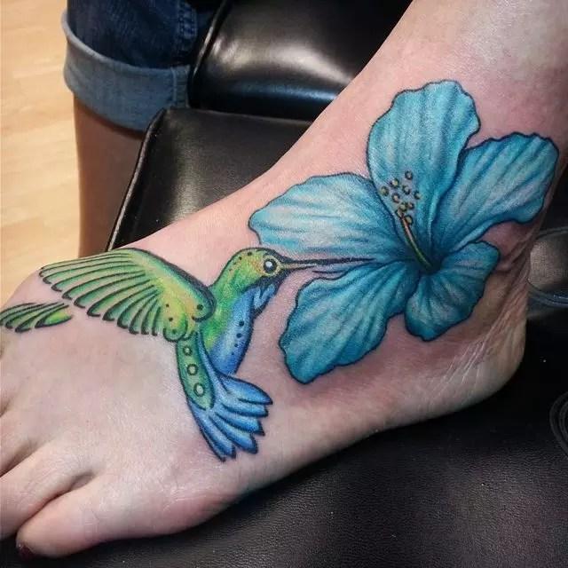 55 Hibiscus Flower Tattoo