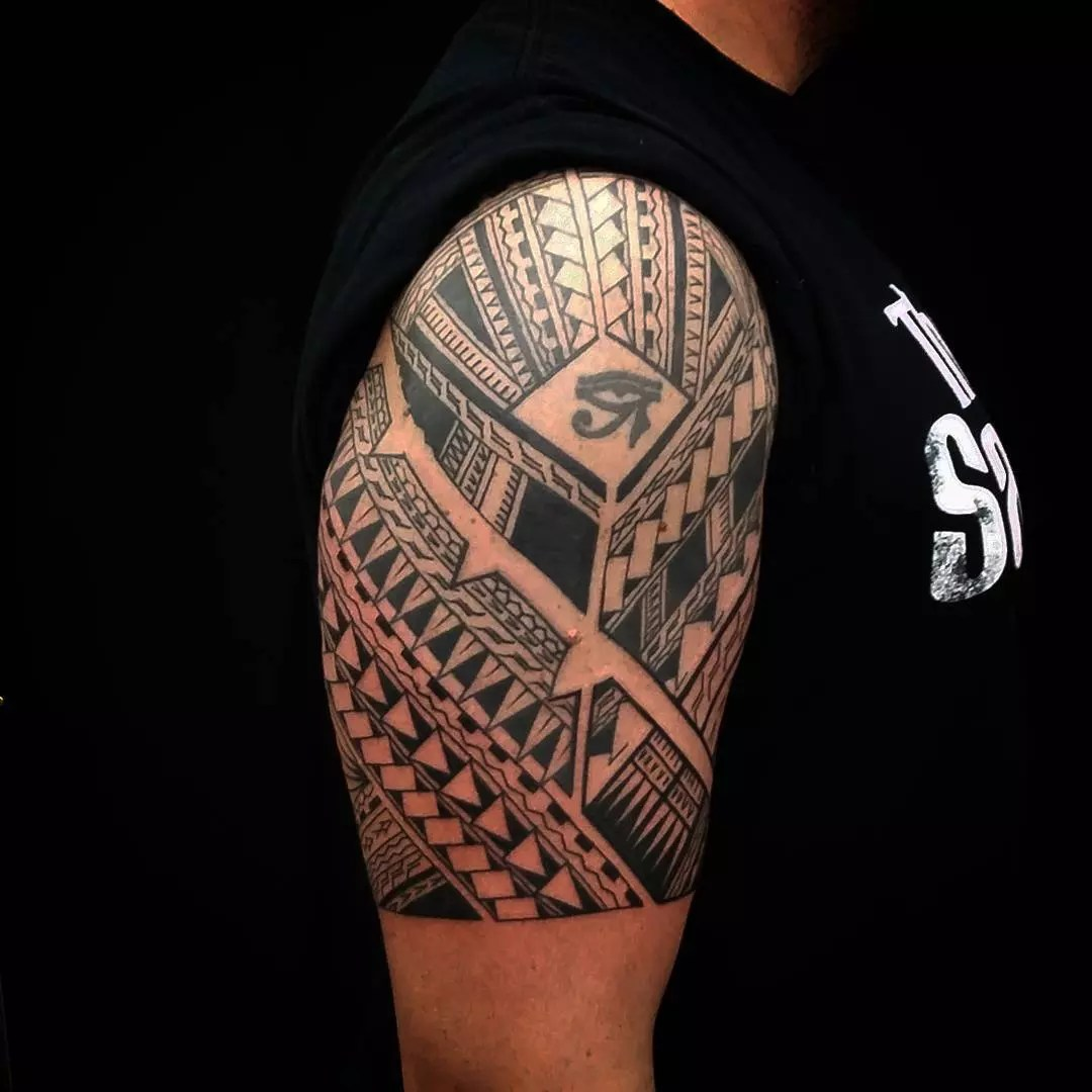 Tattoo Designs Polynesian Shoulder