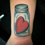 heart tattoo design &
