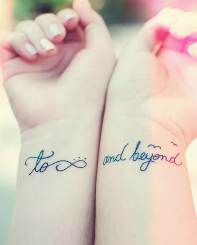 Guy And Girl Best Friend Tattoos : friend, tattoos, Great, Friend, Tattoos, Friendship, Inked