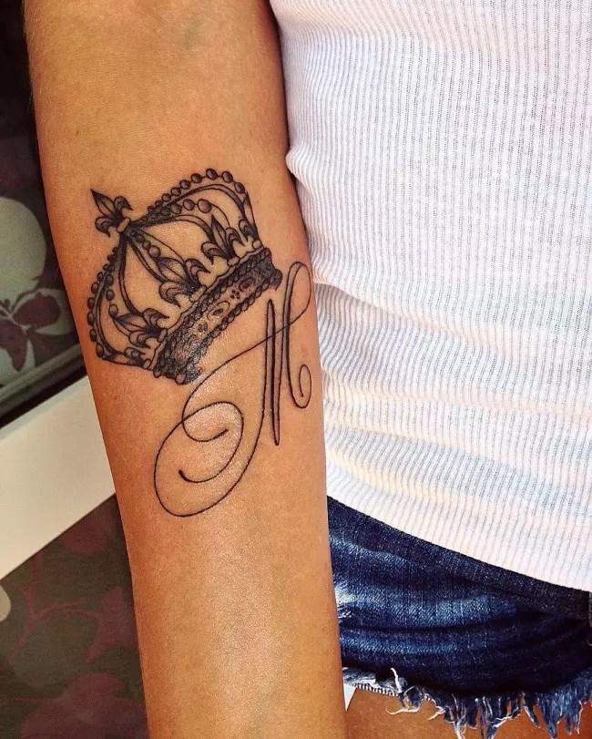 Initials Tattoos On Wrist : initials, tattoos, wrist, Charming, Initial, Tattoo, Designs, Loved, Closer