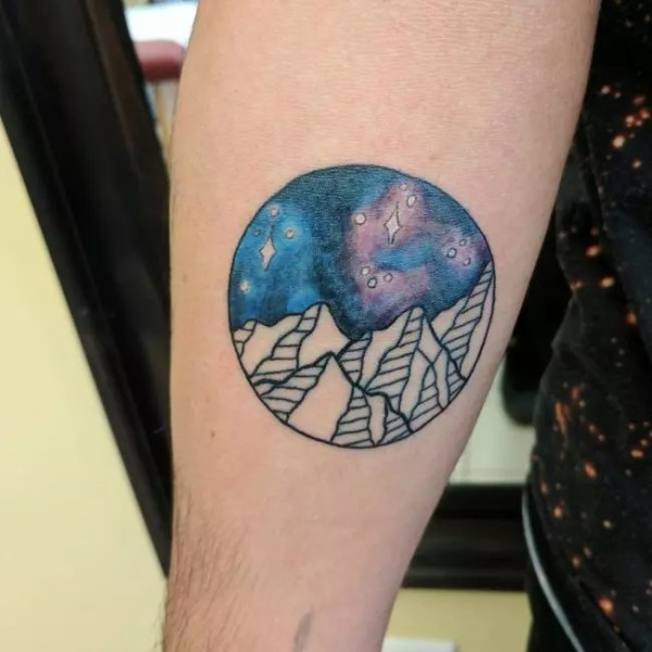 fascinating space tattoo ideas