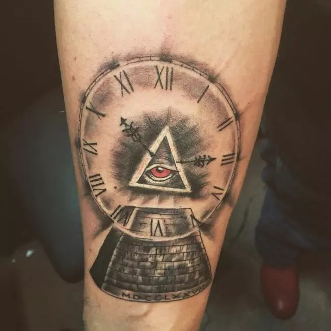 Illuminati Tattoos For Men