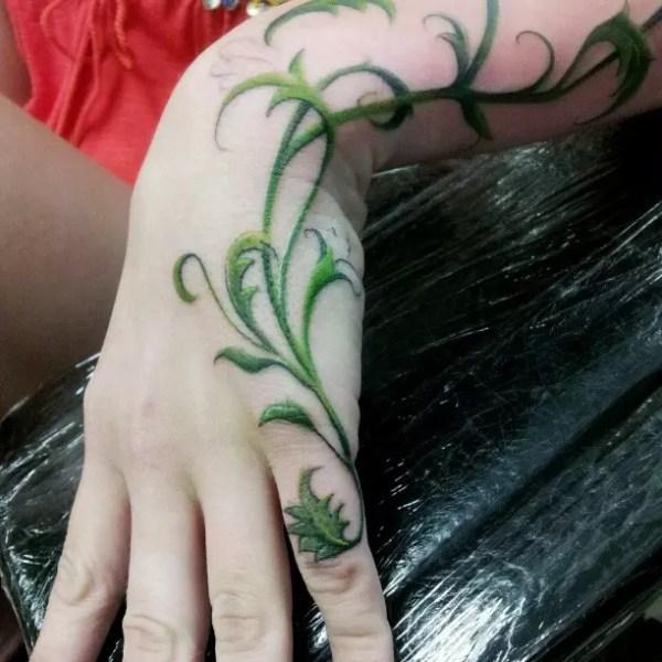 amazing vine tattoo ideas