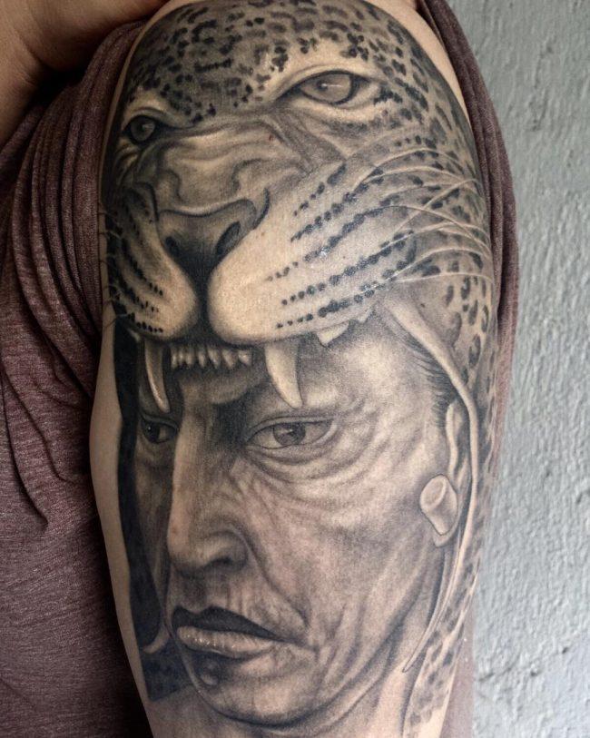 Mayan Warrior Tattoos : mayan, warrior, tattoos, Symbolic, Mayan, Tattoo, Ideas, Fusing, Ancient, Modern, Tattoos