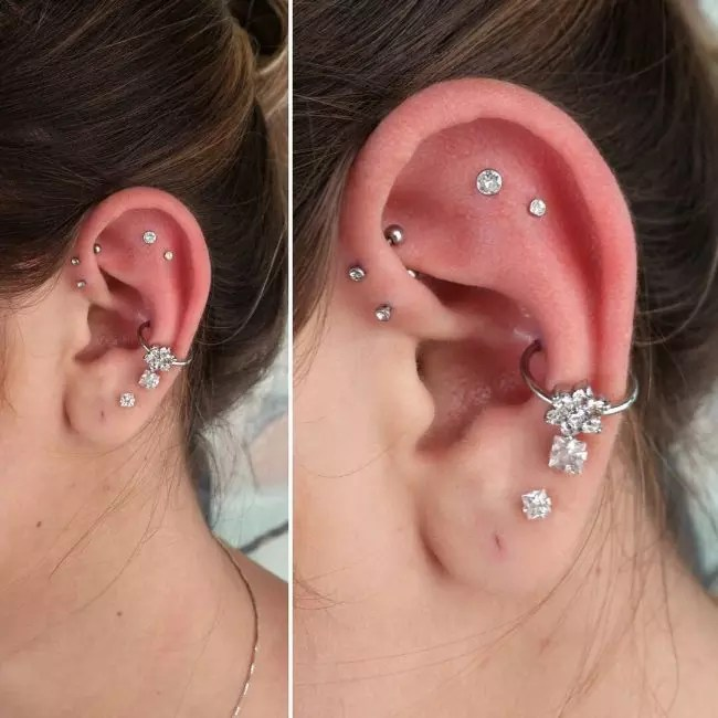 Most Popular Jewelry Different Types Ear Piercings