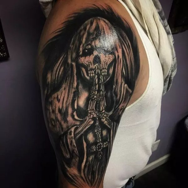 creative grim reaper tattoos