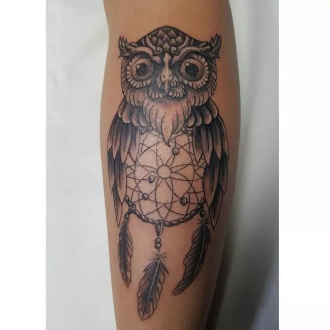 Dream Catcher Tattoo For Women On Arm