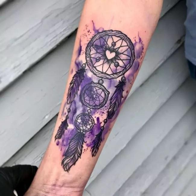Dream Catcher Tattoo Design Wrist