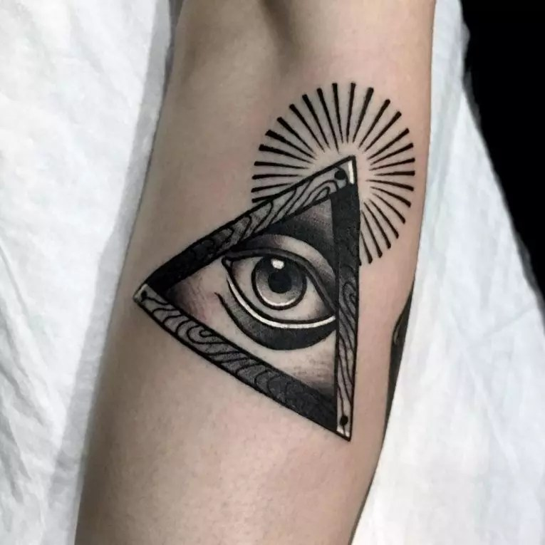 60 Mysterious Illuminati Tattoo Designs Enlighten Yourself