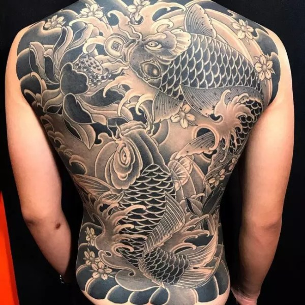 20 Lower Back Tattoos Japanese Koi Fish Ideas And Designs