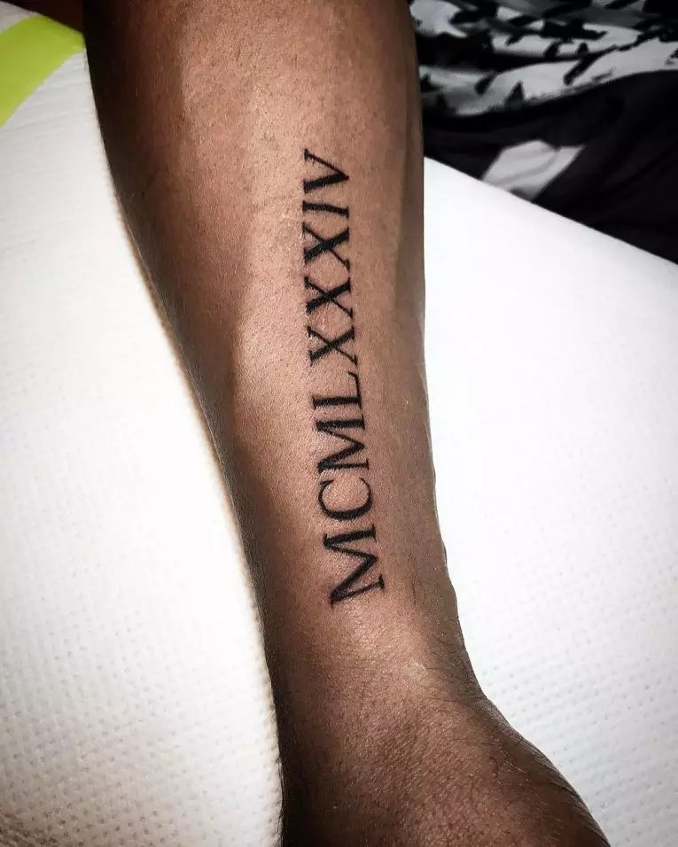1997 Roman Numerals Tattoo : roman, numerals, tattoo, Roman, Numeral, Tattoo, Designs, Meanings, Creative, (2019)