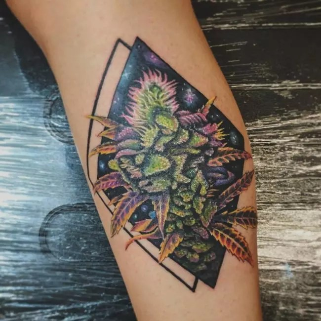 60 Hot Weed Tattoo Designs Legalized Ideas In 2019