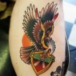Soldat mit Tattoo (Symbolbild)