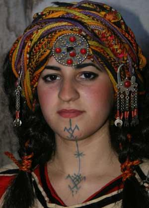 Tatouage Berbère, Tatouages Et Culture Berbère, Amazigh