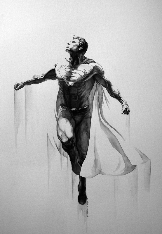 Black Superman Tattoo : black, superman, tattoo, Superman, Tattoo.com