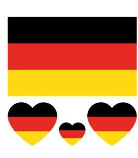 Deutschland Flagge Malvorlage
