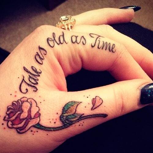 Tatuajes En Las Manos Y En Los Dedos Tatuajes En La Pierna Y En El