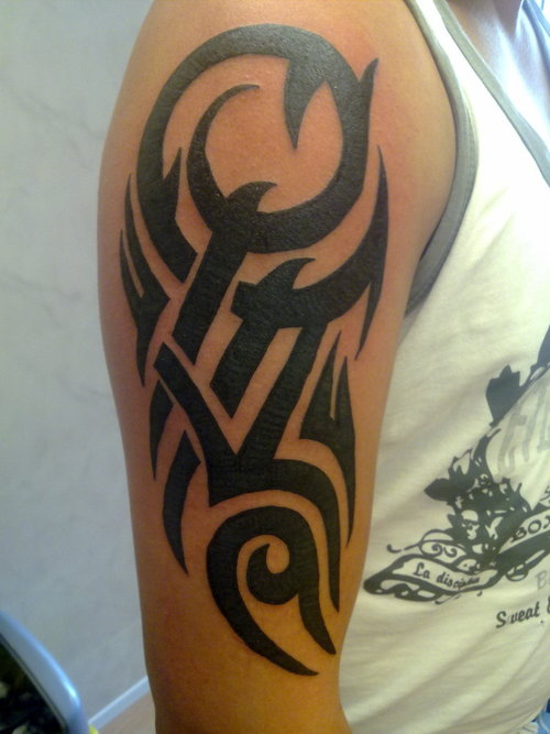 arm tattoos men tribal armband