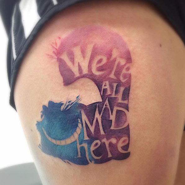 Were All Mad In Here Tattoo