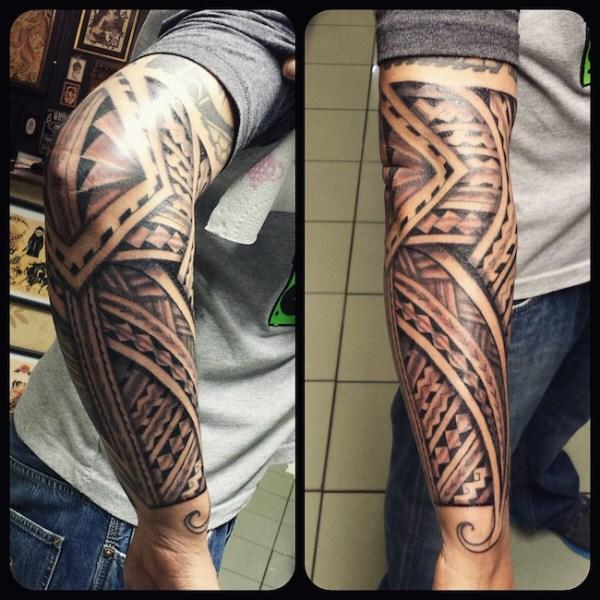 tribal arm tattoos don't