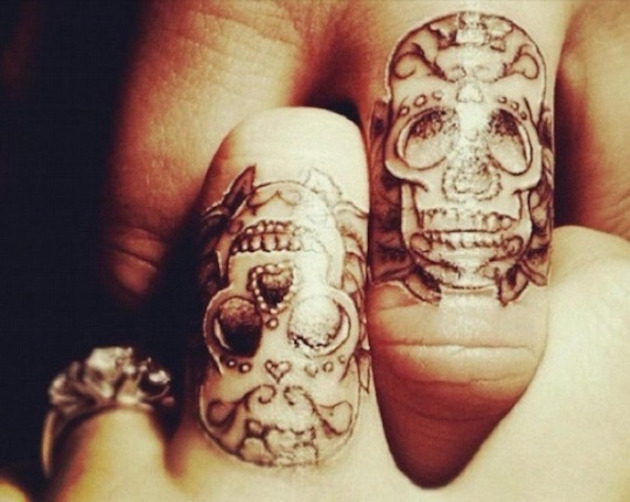 42 Wedding Ring Tattoos That Will Only Appeal To The Most Amazing Of Couples  TattooBlend