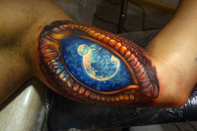 earth shattering space tattoos