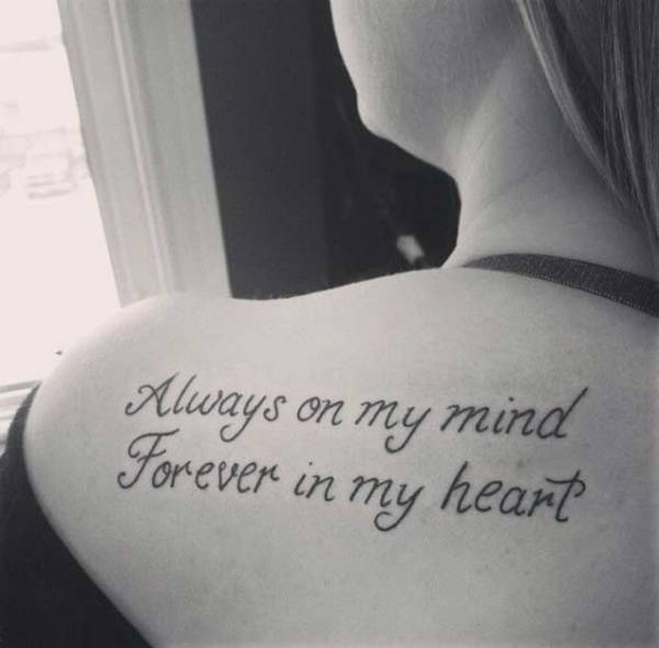 20 Always In My Heart Tattoos For Women Ideas And Designs