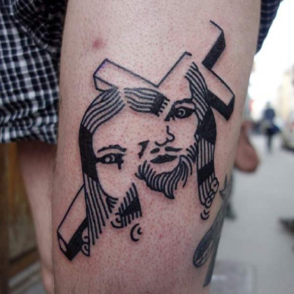 heartwarming christian tattoo