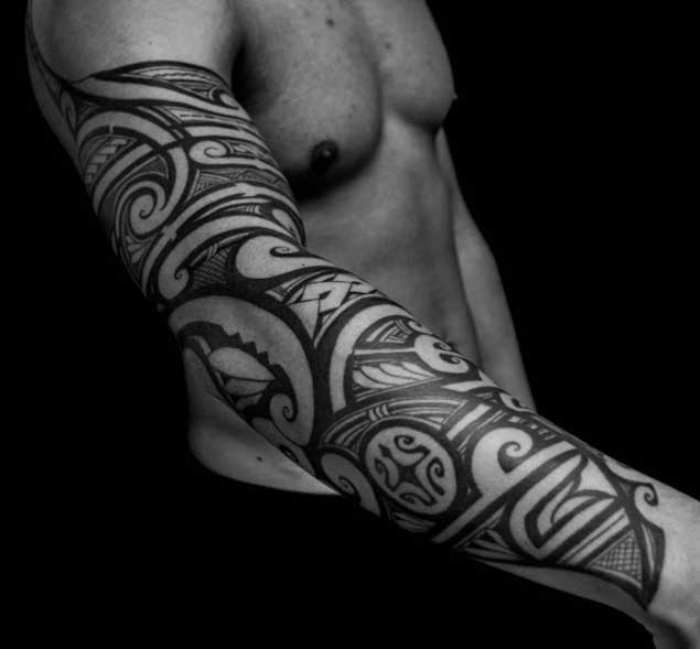 30 Ridiculously Amazing Tribal Tattoos By California