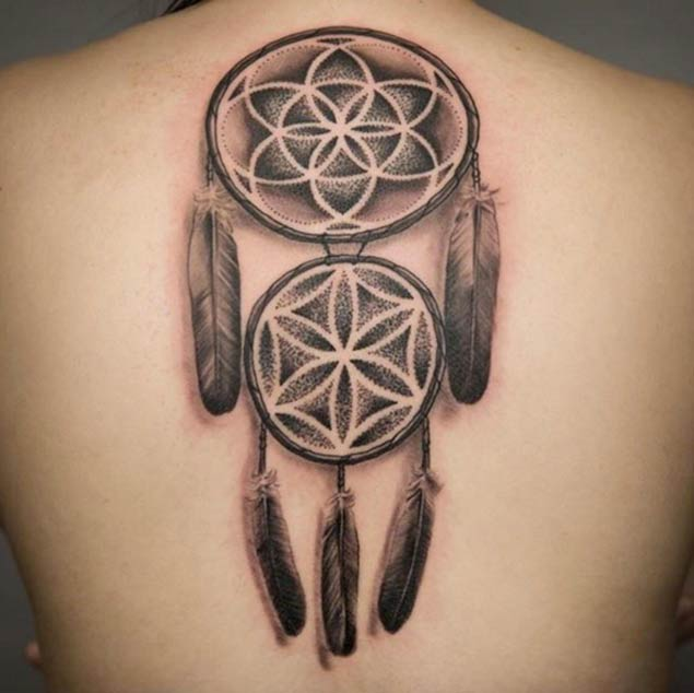 Dreamcatcher Tattoos Small