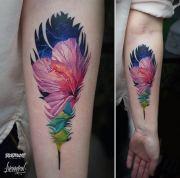 fabulous feather tattoos