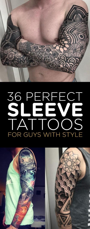 perfect sleeve tattoos guys