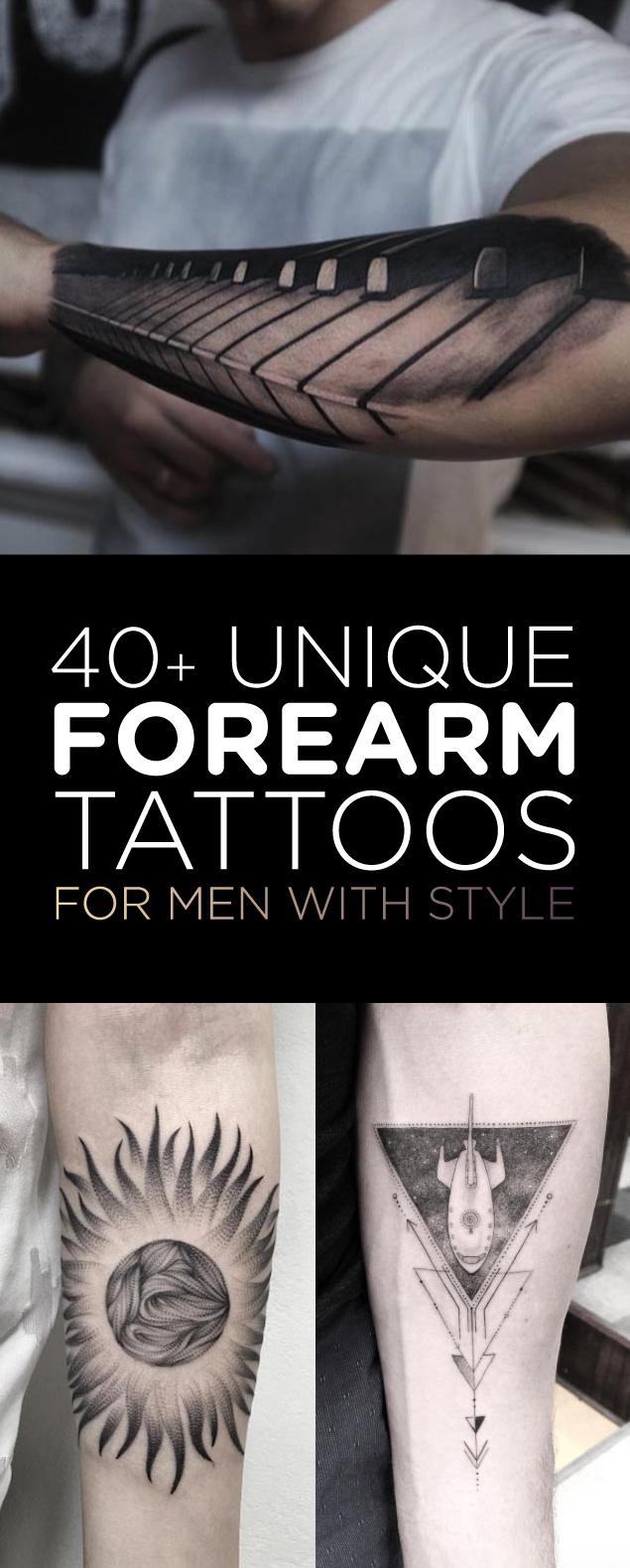 Forearm Tattoo Ideas For Men : forearm, tattoo, ideas, Unique, Forearm, Tattoos, Style, TattooBlend
