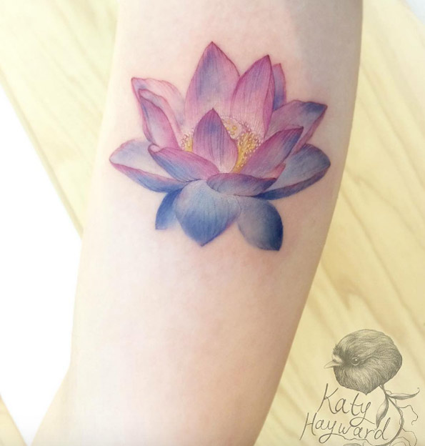 20 Chinese Red Lotus Flower Tattoos Ideas And Designs
